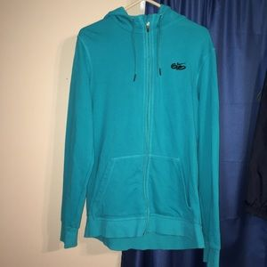 Nike Sweaters - Nike SB 6.0 Teal Zip-up Hoodie